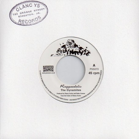 "(7"") THE DYNAMITES - REGGAEDELIC / KING TUBBY - VERSION"