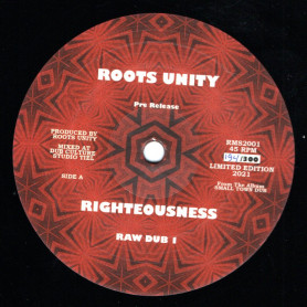 """(12"""") ROOTS UNITY - RIGHTEOUSNESS / REASONING"""