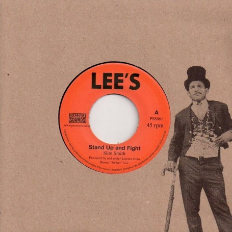 "(7"") SLIM SMITH - STAND UP AND FIGHT / THE AGGROVATORS - DR SEATON"