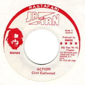 """(7"""") CLINT EASTWOOD - ACTION / THE REVOLUTIONARIES - 45 MAGNUM"""