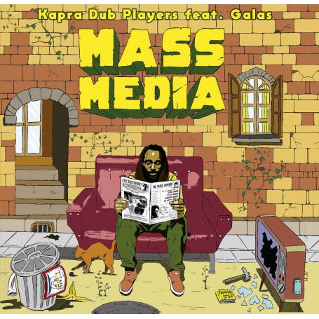 "(10"") KAPRA DUB PLAYERS FEAT. GALAS - MASS MEDIA"