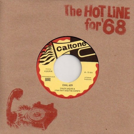 "(7"") CHUCK JAQUES & LYNN TAITT AND THE COMETS - DIAL 609 / LYN TAITT & THE JETS - THE BRUSH"