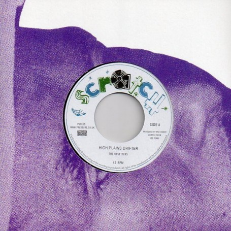 "(7"") THE UPSETTERS - HIGH PLAINS DRIFTER / VERSION"