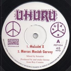 "(10"") SCIENTIST - MALCOLM X / MARCUS MOSIAH GARVEY"