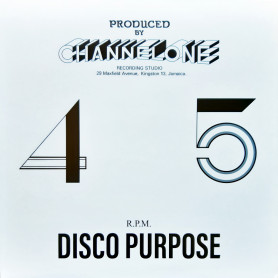 """(12"""") THE  REVOLUTIONARIES - THE CHANNEL ONE DISCO PURPOSE"""