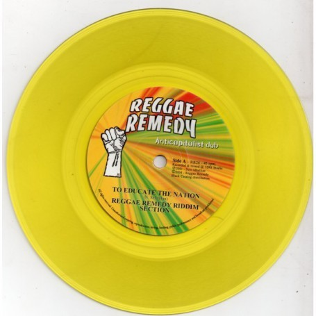 "(7"") REGGAE REMEDY RIDDIM SECTION - TO EDUCATE THE NATION / MOVE WEH BABYLON !"