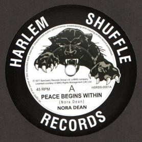 """(7"""") NORA DEAN - PEACE BEGINS WITHIN / AY AY AY AY (ANGLE-LALA)"""
