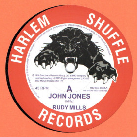 "(7"") RUDY MILLS - JOHN JONES / THE CRYSTALITES - BOMBSHELL"