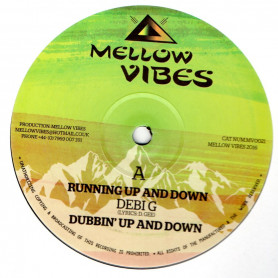 """(12"""") DEBI G - RUNNING UP AND DOWN / SISTER SHERIN - TROD A LONG"""