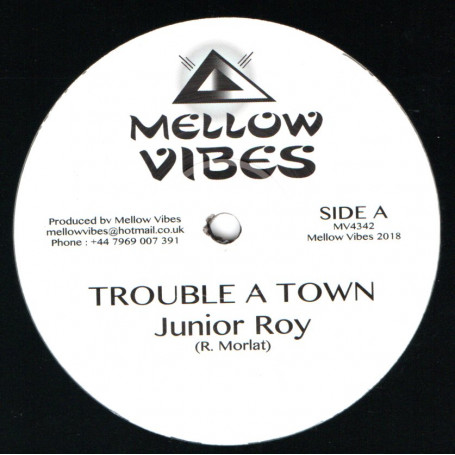 "(12"") JUNIOR ROY - TROUBLE A TOWN / MURRAY MAN / FORWARD HOME"