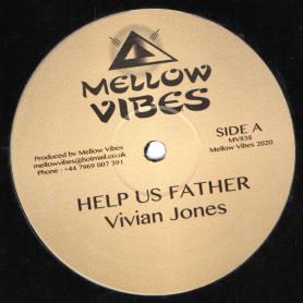"""(12"""") VIVIAN JONES - HELP US FATHER / ROBERT DALLAS - MR WICKED MAN"""