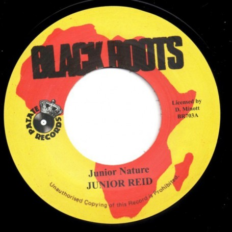 "(7"") JUNIOR REID - JUNIOR NATURE / VERSION"