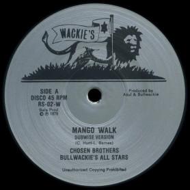 "(12"") CHOSEN BROTHERS - MANGO WALK / RHYTHM & SOUND - MANGO DRIVE"