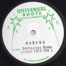 """(10"""") SOOTHSAYERS HORNS - WADADA / RASTA INDIAN - JAH MUSIC"""