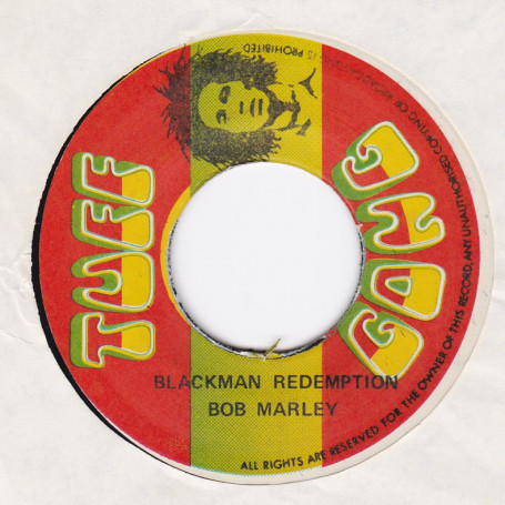 "(7"") BOB MARLEY - BLACKMAN REDEMPTION / VERSION"