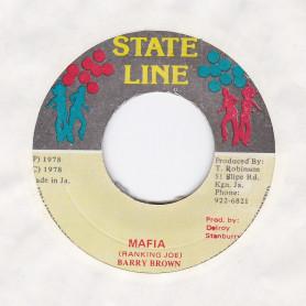 """(7"""") BARRY BROWN - MAFIA / VERSION"""