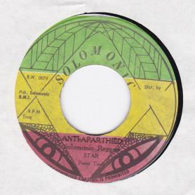 """(7"""") PETER TOSH - ANTI- APARTHEID / SOLIDARITY"""
