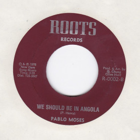 """(7"""") PABLO MOSES - WE SHOULD BE IN ANGOLA / WE SHOULD BE IN ANGOLA"""