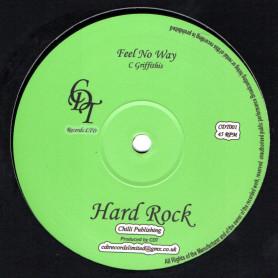 """(12"""") HARD ROCK - FEEL NO WAY / DUB"""