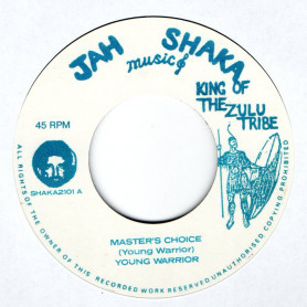 """(7"""") YOUNG WARRIOR - MASTER'S CHOICE / MASTER'S DUB"""