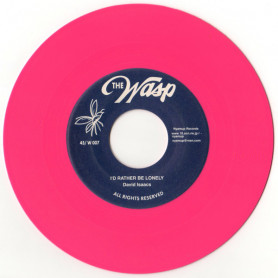 """(7"""") DAVID ISAACS - I'D RATHER BE LONELY / SEE THAT MAN"""