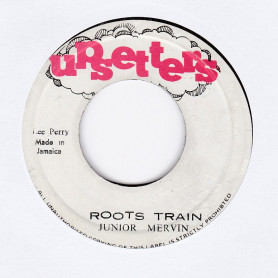"(7"") JUNIOR MERVIN - ROOTS TRAIN / THE UPSETTER - VERSION"