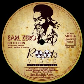 "(12"") EARL ZERO - GO TO ZION (Extented) / MAM - ZION'S BLOOD (Extented)"