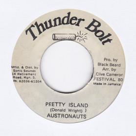 "(7"") AUSTRONAUTS - PRETTY ISLAND / VERSION"