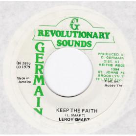 """(7"""") LEROY SMART - KEEP THE FAITH / VERSION"""
