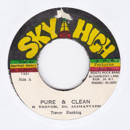 """(7"""") TREVOR RANKING - PURE & CLEAN / (7"""") ROCK BAND - NICE & NASTY"""