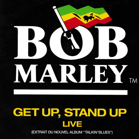 "(7"") BOB MARLEY - GET UP, STAND UP, LIVE"
