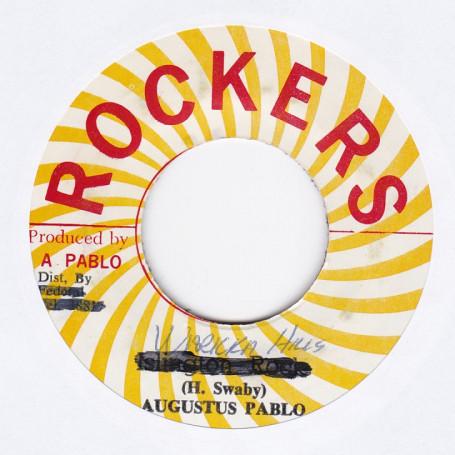 "(7"") AUGUSTUS PABLO - UP WARIKA HILL / PABLO ALL STAR - DUB"