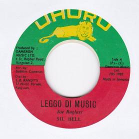 "(7"") SIL BELL - LEGGO DI MUSIC / VERSION"