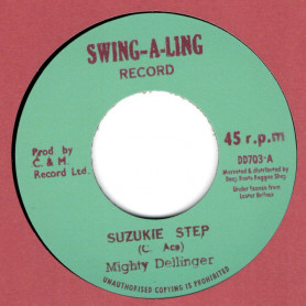 """(7"""") MIGHTY DELLINGER - SUZUKIE STEP / CHARLEY ACE - ACE DUB"""