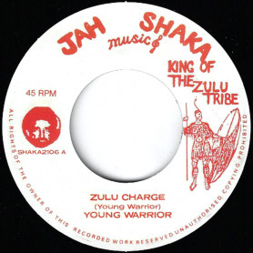 "(7"") YOUNG WARRIOR - ZULU CHARGE / CHARGING DUB"