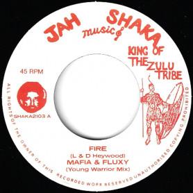 "(7"") MAFIA & FLUXY - FIRE / FIRE DUB"