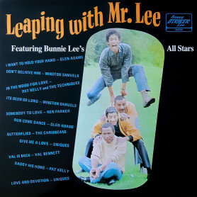 (LP) VARIOUS - BUNNIE LEE'S ALL STARS - LEAPING WITH MR. LEE