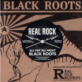 """(7"""") BLACK ROOTS - ALL DAY ALL NIGHT / MAD PROFESSOR - PRESSURE DUB"""