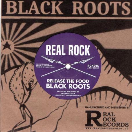 """(7"""") BLACK ROOTS - RELEASE THE FOOD / MAD PROFESSOR - FOLITRICKSHUN DUB"""