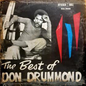 (LP) DON DRUMMOND - THE BEST OF DON DRUMMOND