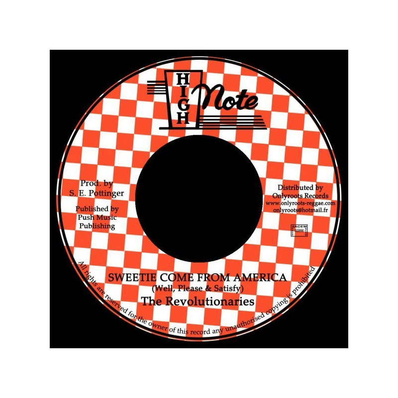 "(7"") WELL, PLEASE & SATISFY - SWEETIE COME FROM AMERICA"