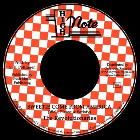 "(7"") WELL, PLEASE & SATISFY - SWEETIE COME FROM AMERICA / THE REVOLUTIONARIES - VERSION"