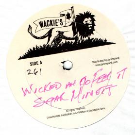 "(12"") SUGAR MINOTT - WICKED AH GO FEEL IT / HORACE ANDY - MUSICAL EPISODE"