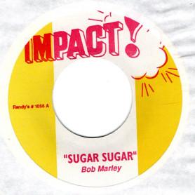 "(7"") BOB MARLEY - SUGAR SUGAR / DON'T ROCK MY BOAT"
