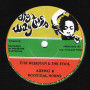 """(7"""") ABENG & ROOTIKAL HORNS - THE WISEMAN & THE FOOL / EEYUN PURKINS AT WAGGLE DANCE STUDIO - A WISE DUB"""