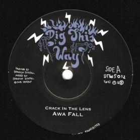 "(7"") AWA FALL - CRACK IN THE LENS / SHAOLIN SOUND - CRACKIN DUB"