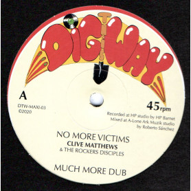 """(12"""") CLIVE MATTHEWS - NO MORE VICTIMS / MARA & THE ROCKERS DISCIPLES - THIS COULD BE LOVE"""