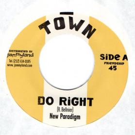 "(7"") NEW PARADIGM - DO RIGHT / BERT &  10 FT. GANJA PLANT - TOP DOWN"