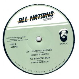 """(12"""") AMELIA HARMONY - LESSONS LEARNED / RAMON JUDAH - LET JAH ARISE"""