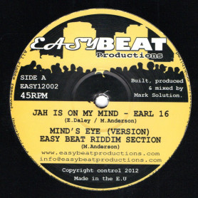 """(12"""") EARL 16 - JAH IS ON MY MIND / ITAL HORNS - BLOW YOUR MIND"""
